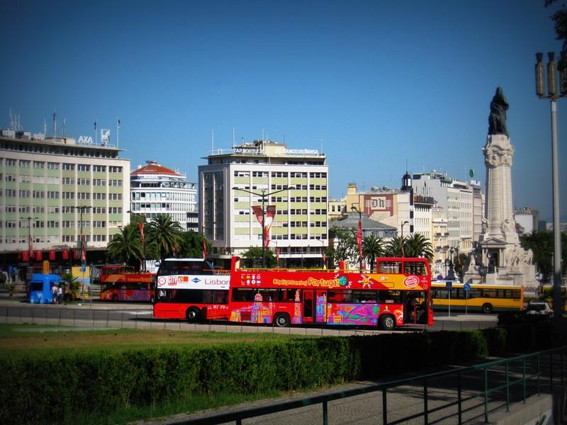 Doppeldecker Bus Lissabon