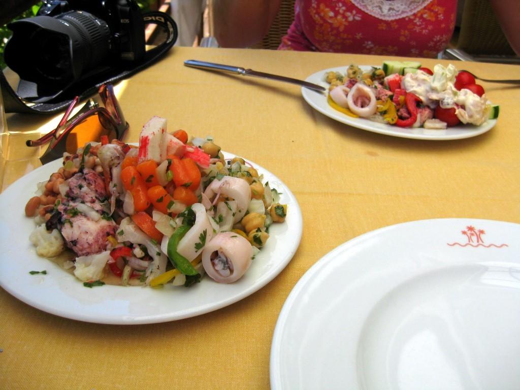 Leckeres portugiesisches Essen