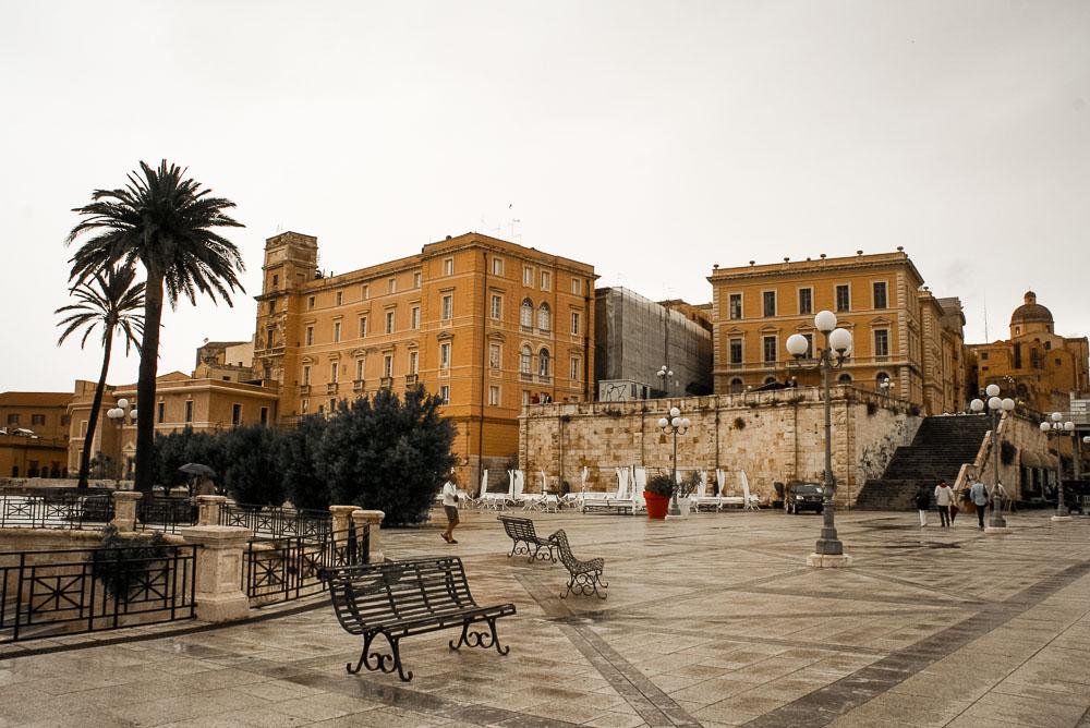 Cagliari-Sardinien-Aussicht