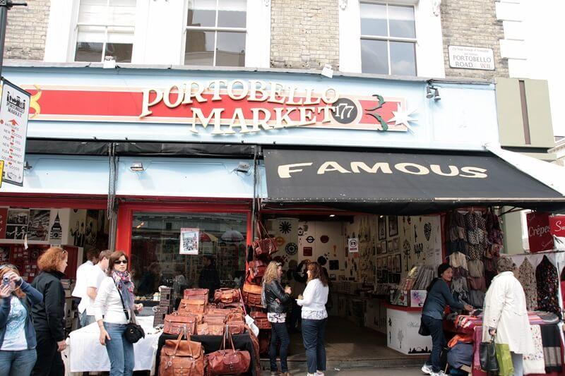 Portobello Market London