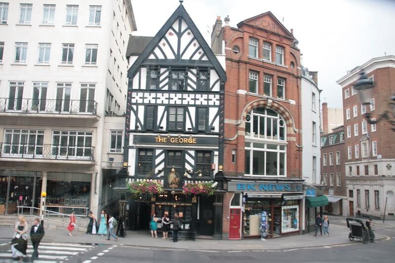 Fachwerkhäuser London