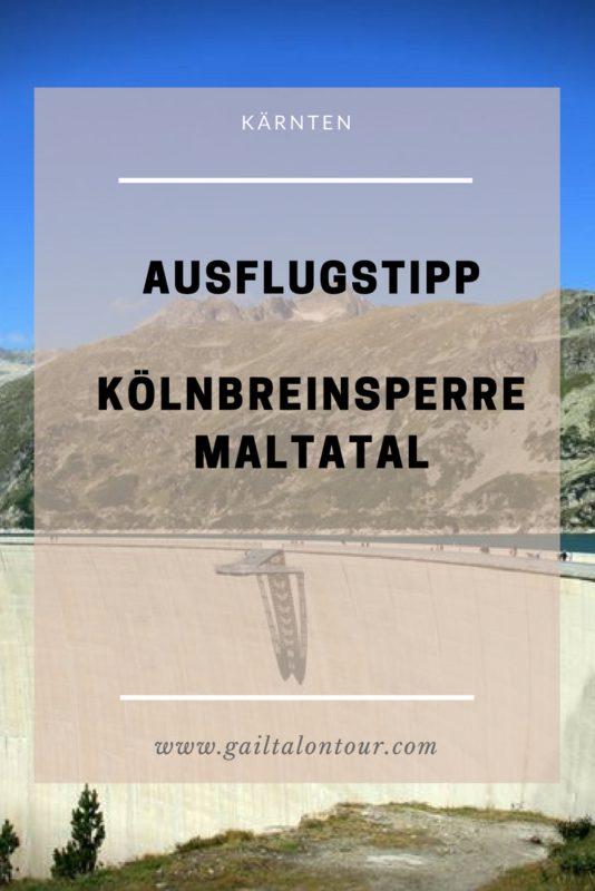 Kölnbreinsperre Maltatal