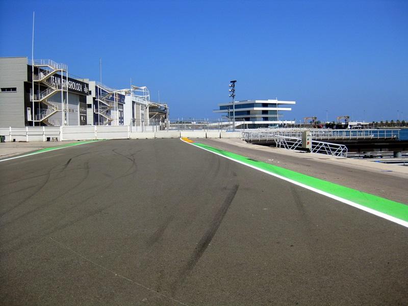F1-Strecke Valencia