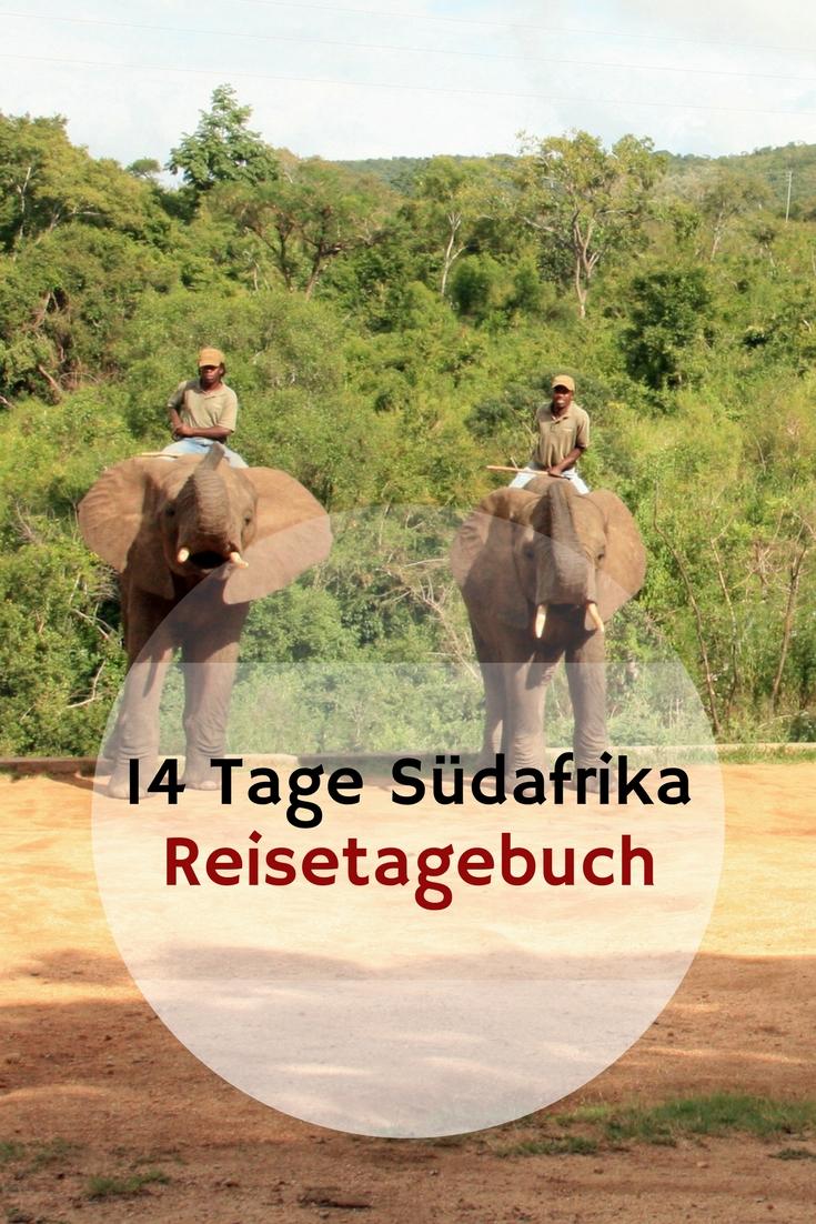 14 Tage Reise durch Südafrika
