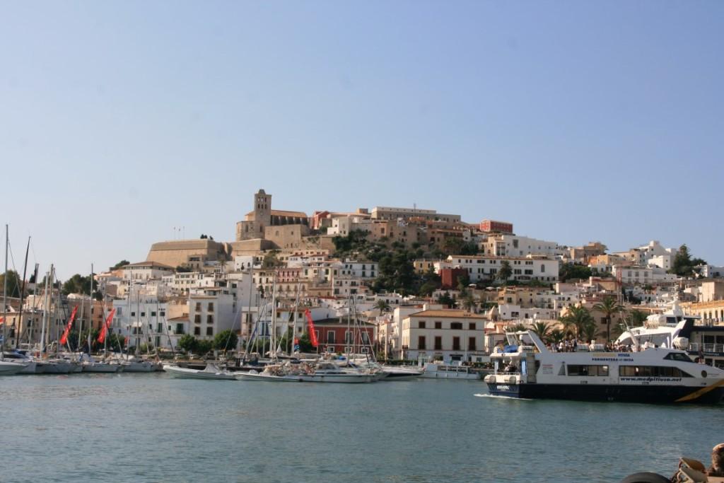 malerische Stadt Ibiza / Eivissa