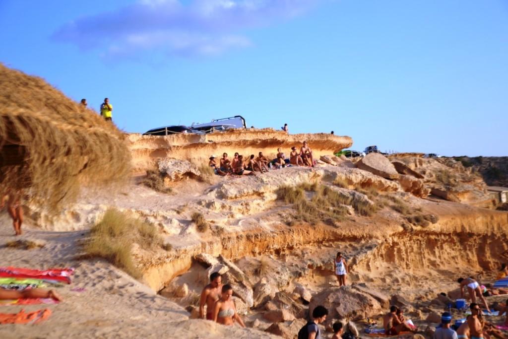 Sonnenuntergang Westküste Ibiza
