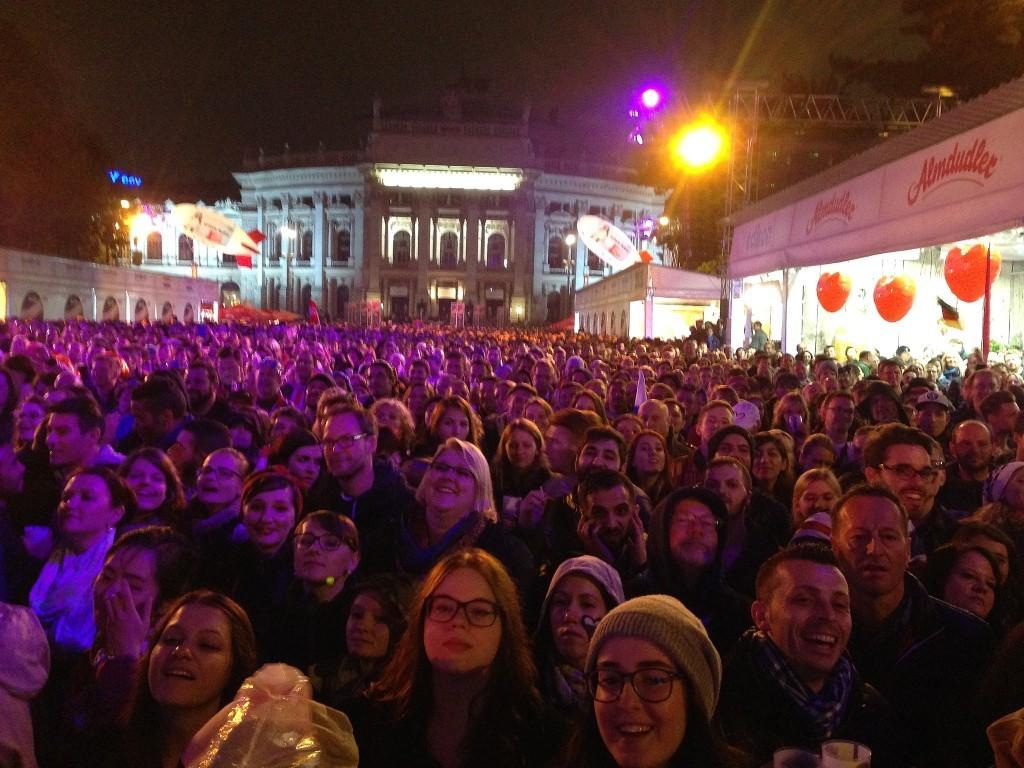 Public Viewing Songcontest Wien Rathausplatz