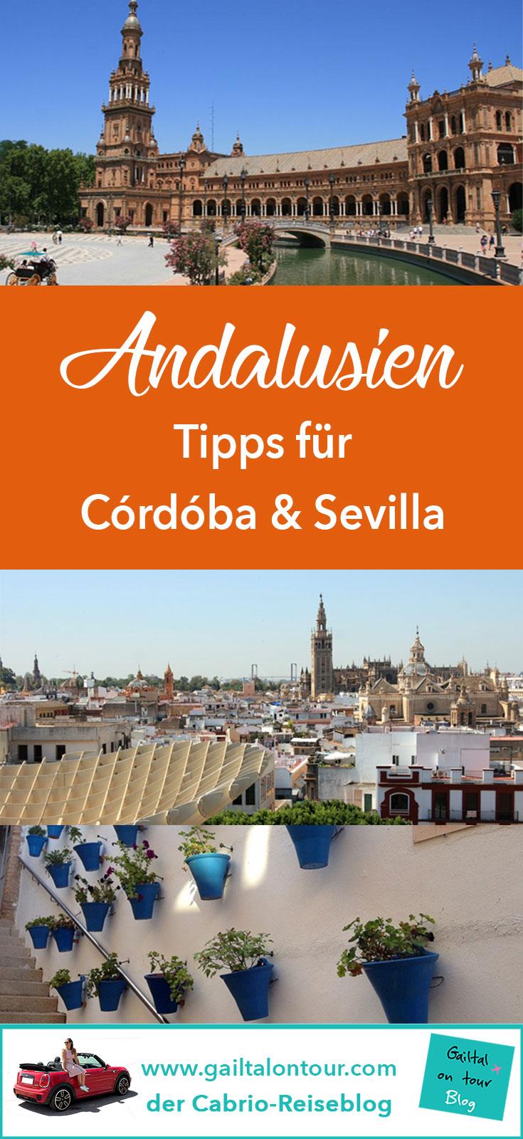 Andalusiens Städte sind wunderschön und immer eine Reise wert. #Córdóba verzaubert mit dem jüdischen Viertel, der #Juderia. In #Sevilla ist der #Metropol Parasol eine der interessantesten Sehenswürdigkeiten