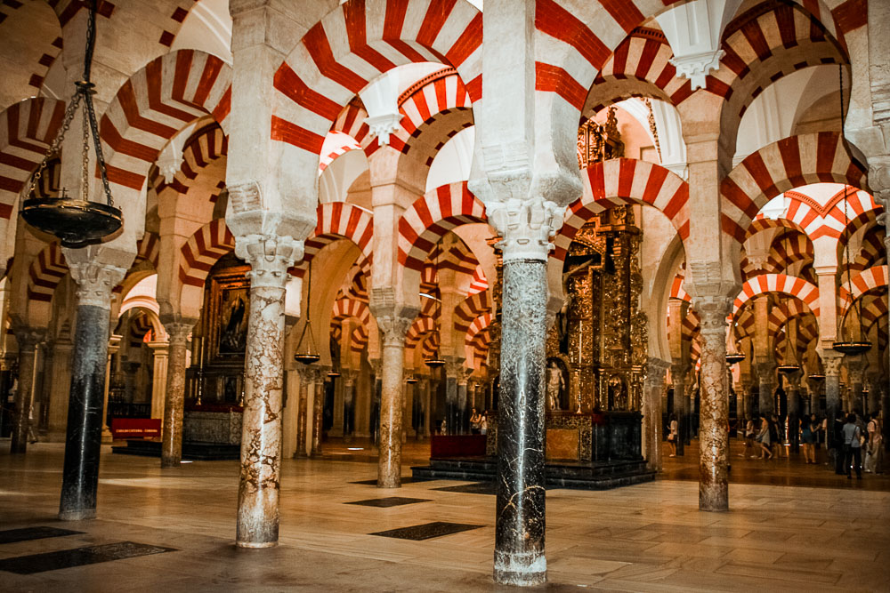 Palmenhalle in der Mezquita