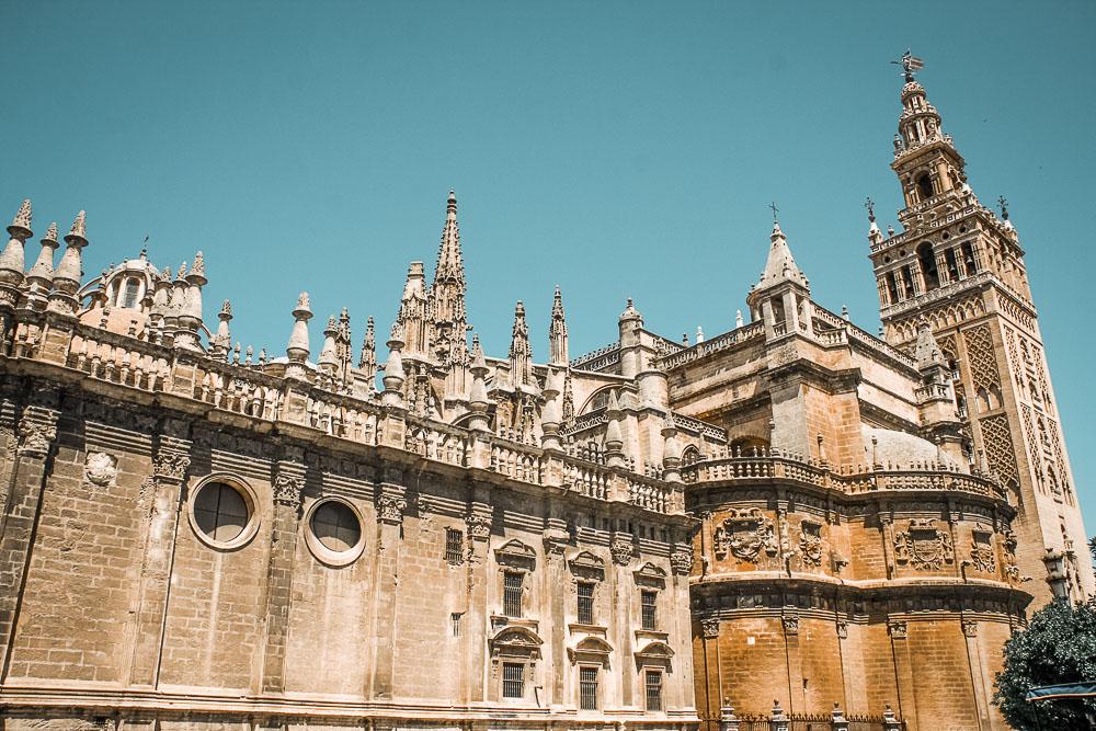 Sevilla-Andalusien-Kathedrale-Kolumbus
