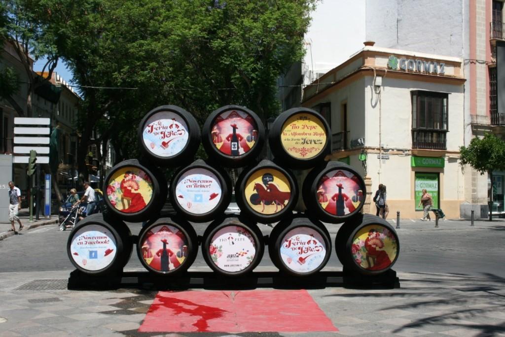 Sherryfässer Jerez Andalusien