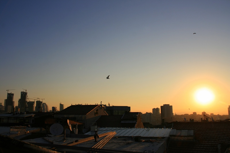 Sonnenaufgang Istanbul
