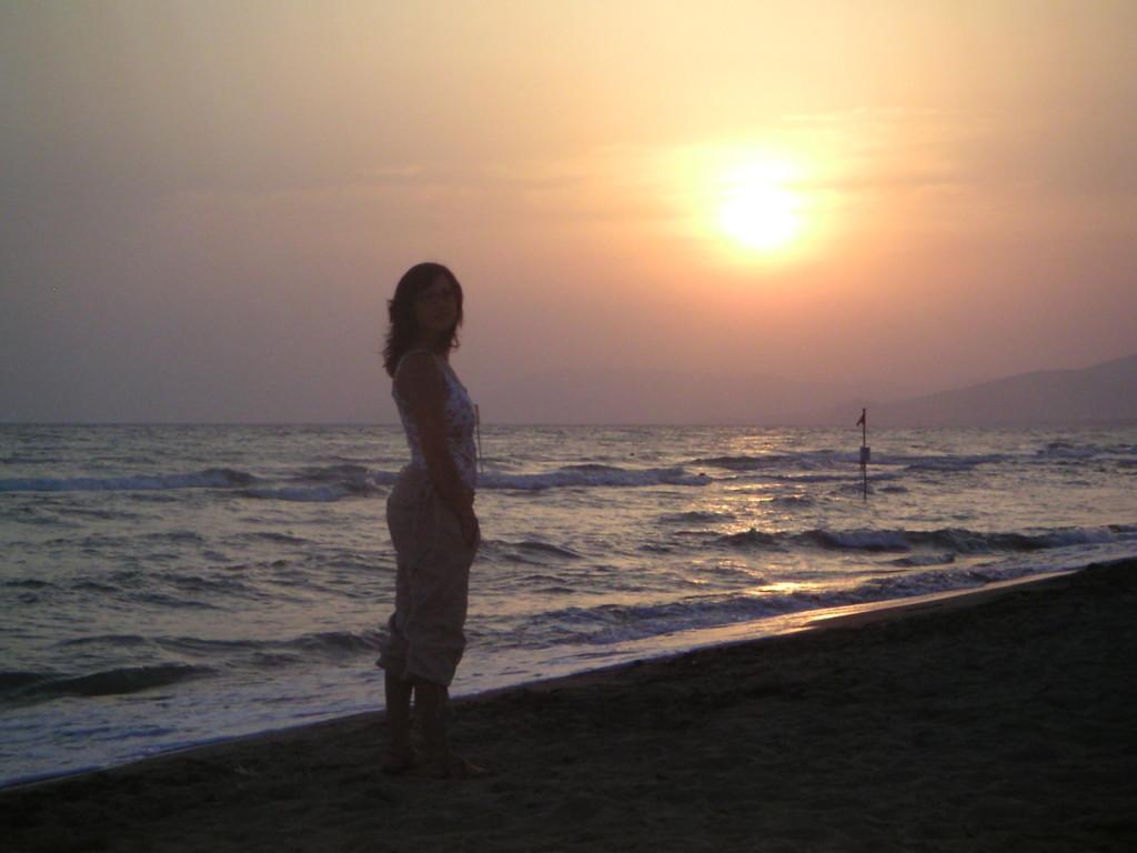 Marina di Grossetto - Sonnenuntergang in der Toskana
