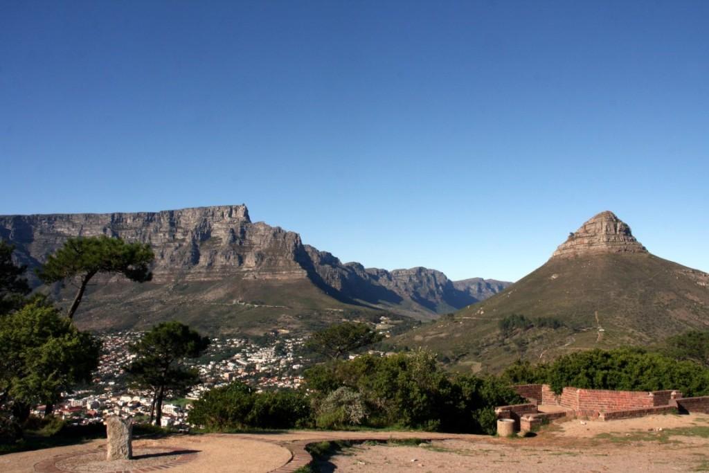 Tafelberg und Signal Hill