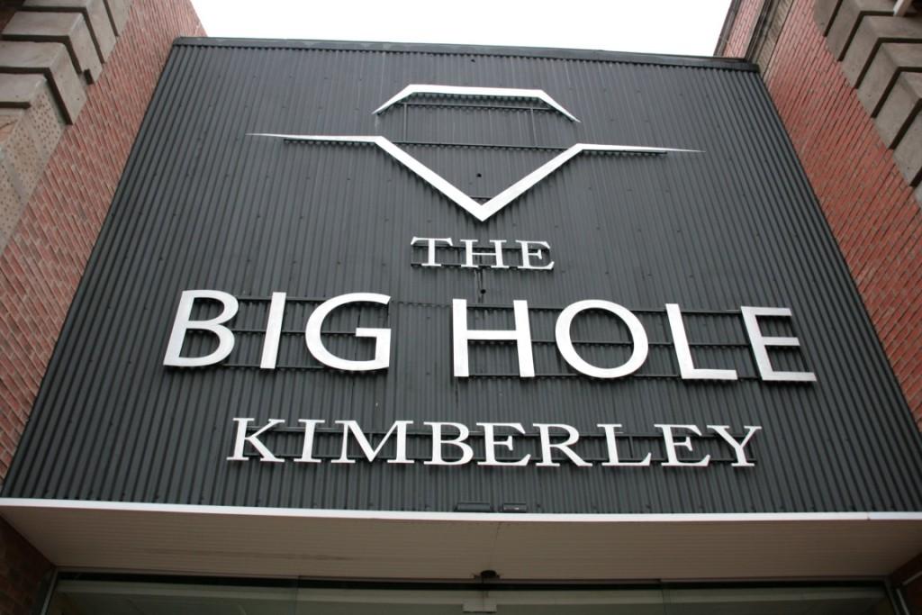 Eingang zur Diamantenmine in Kimberley