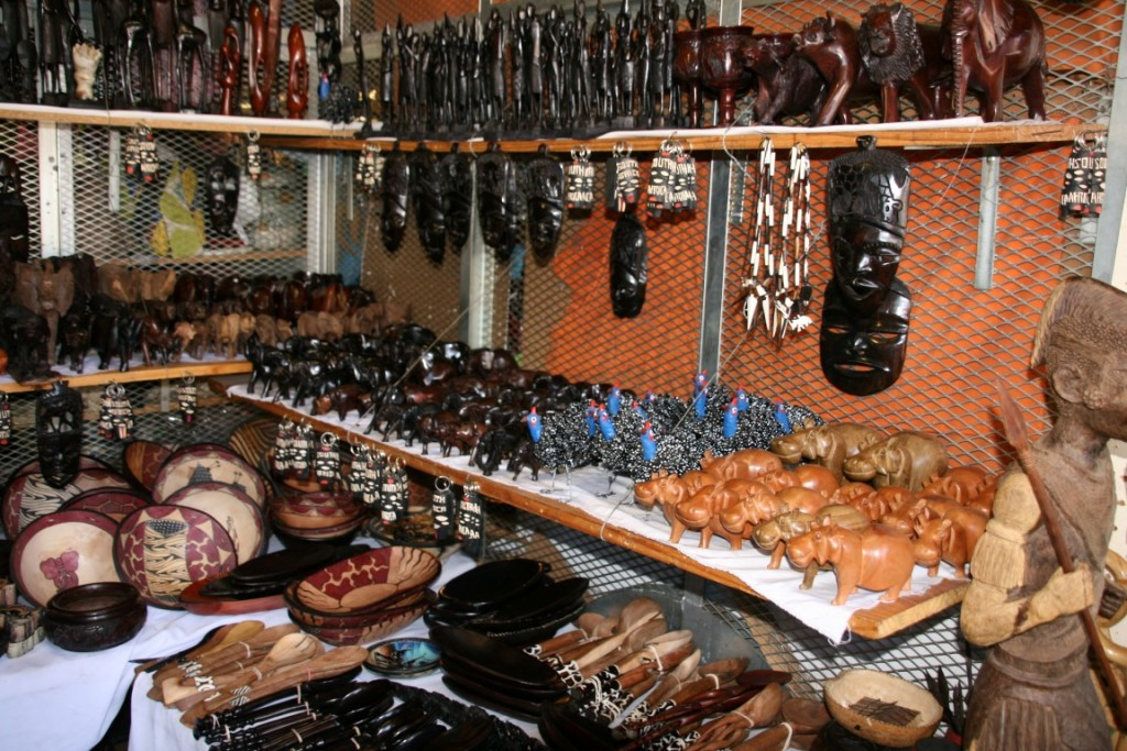 Afrikanischer Markt in Johannesburg