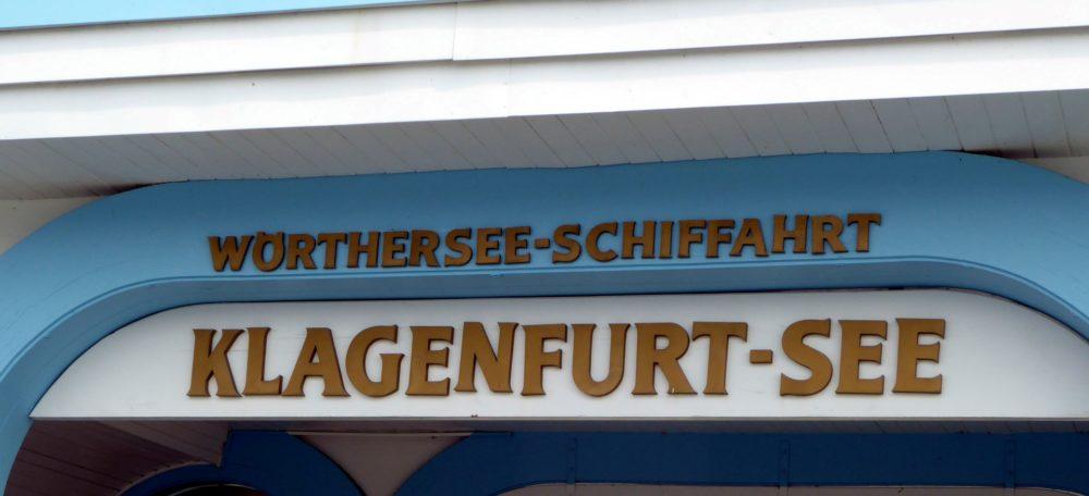 Schiffsanlegestelle Klagenfurt