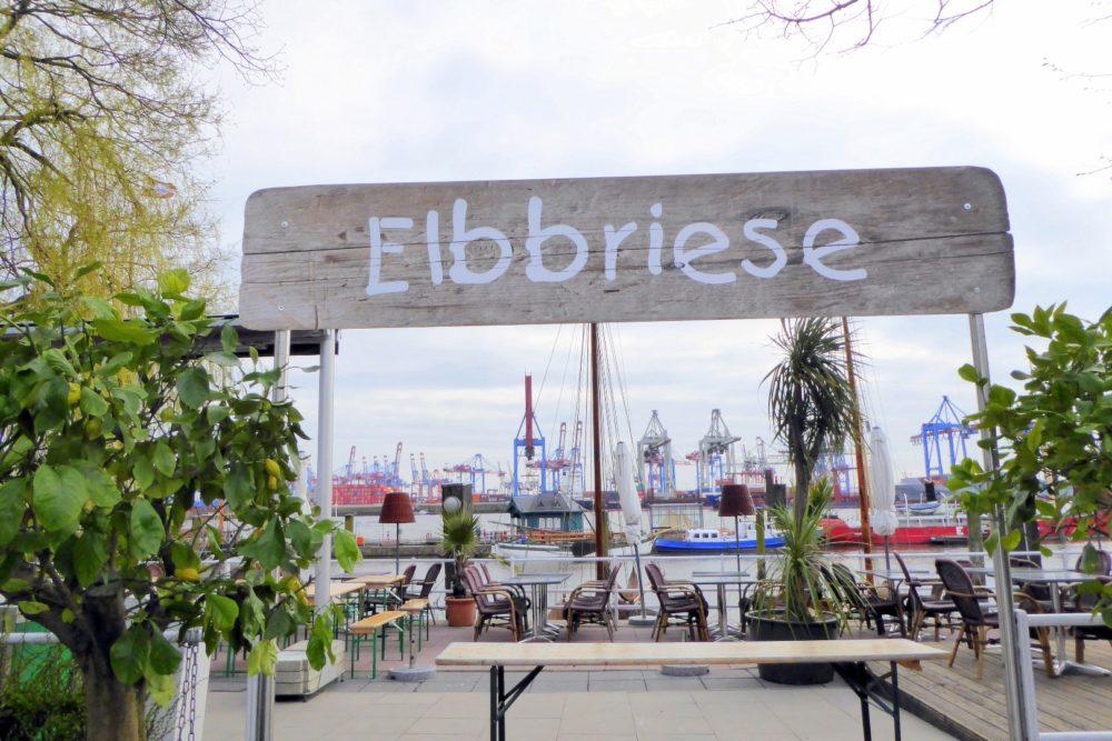 Elbbriese in Blankenese bei Hamburg