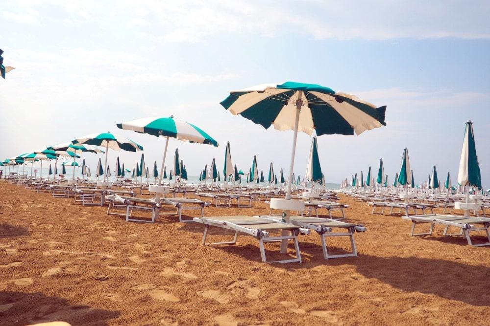 der perfekte Ort für einen Badeurlaub