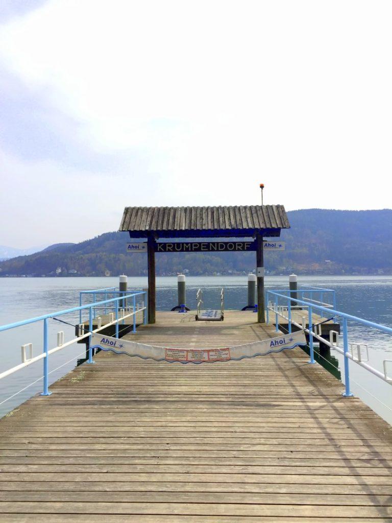 Krumpendorf Einstiegsstelle Wörtherseeschifffahrt