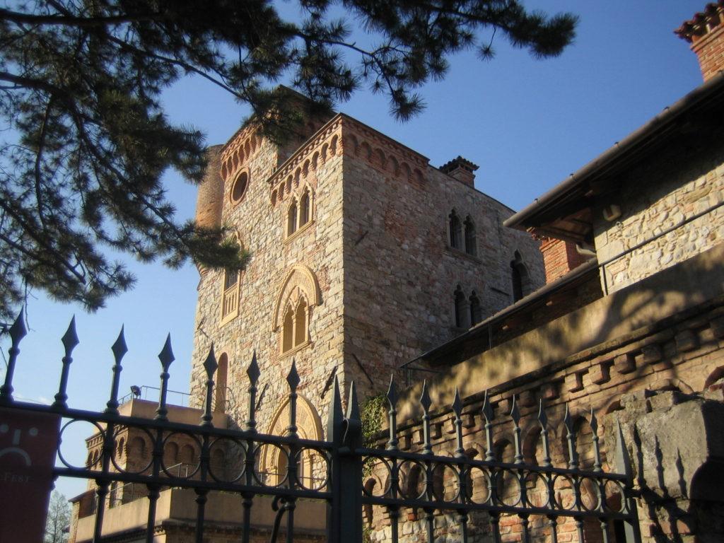 die mittelalterlichen Gebäude sind ein Blickfang