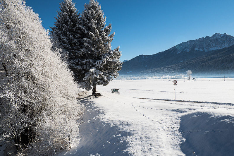 Neuschnee in Kärnten
