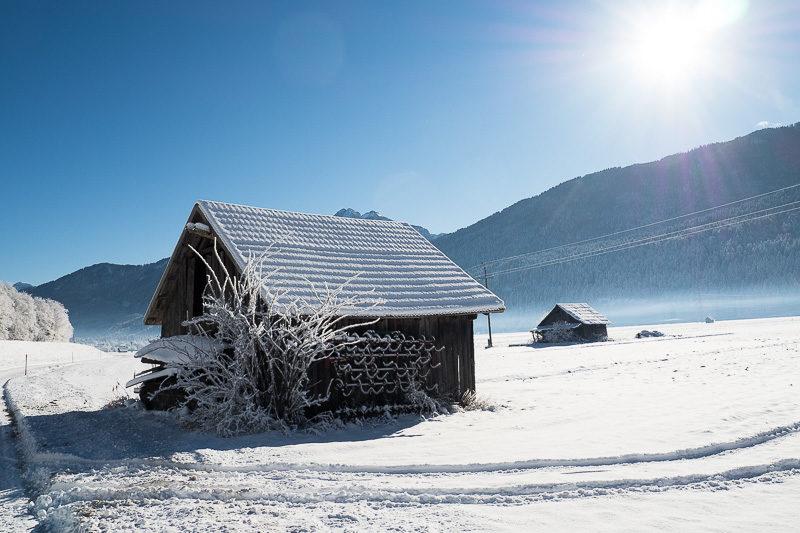 Winter Impressionen Gailtal