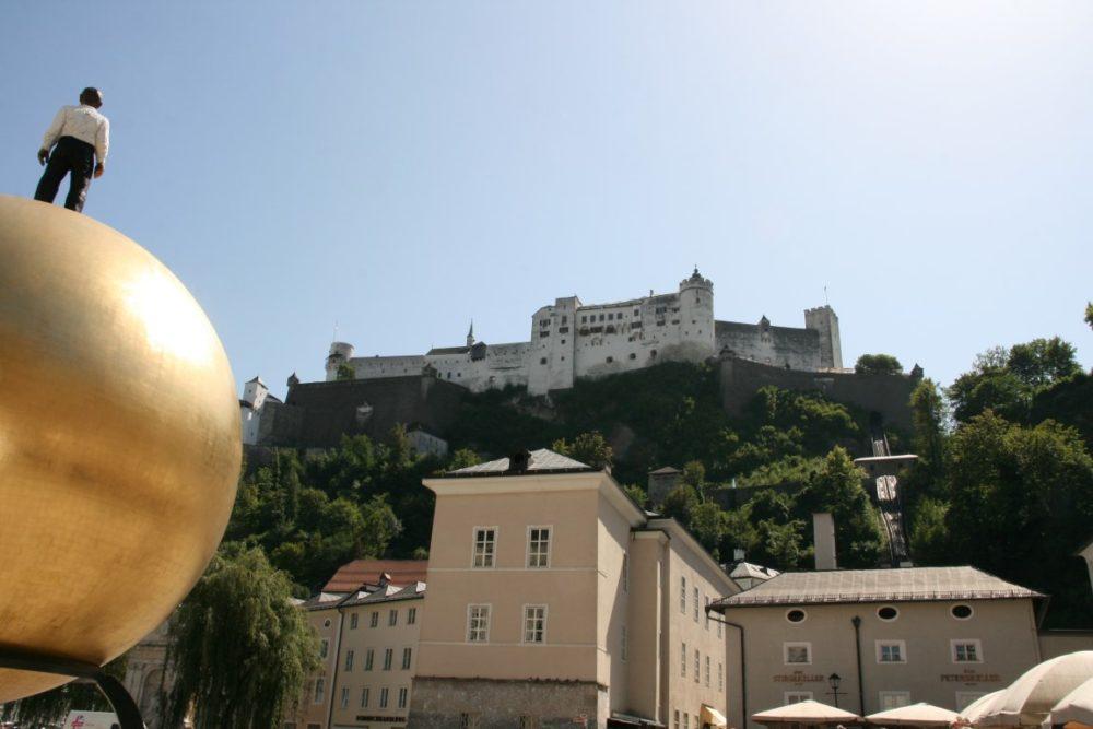 Domplatz Salzburg