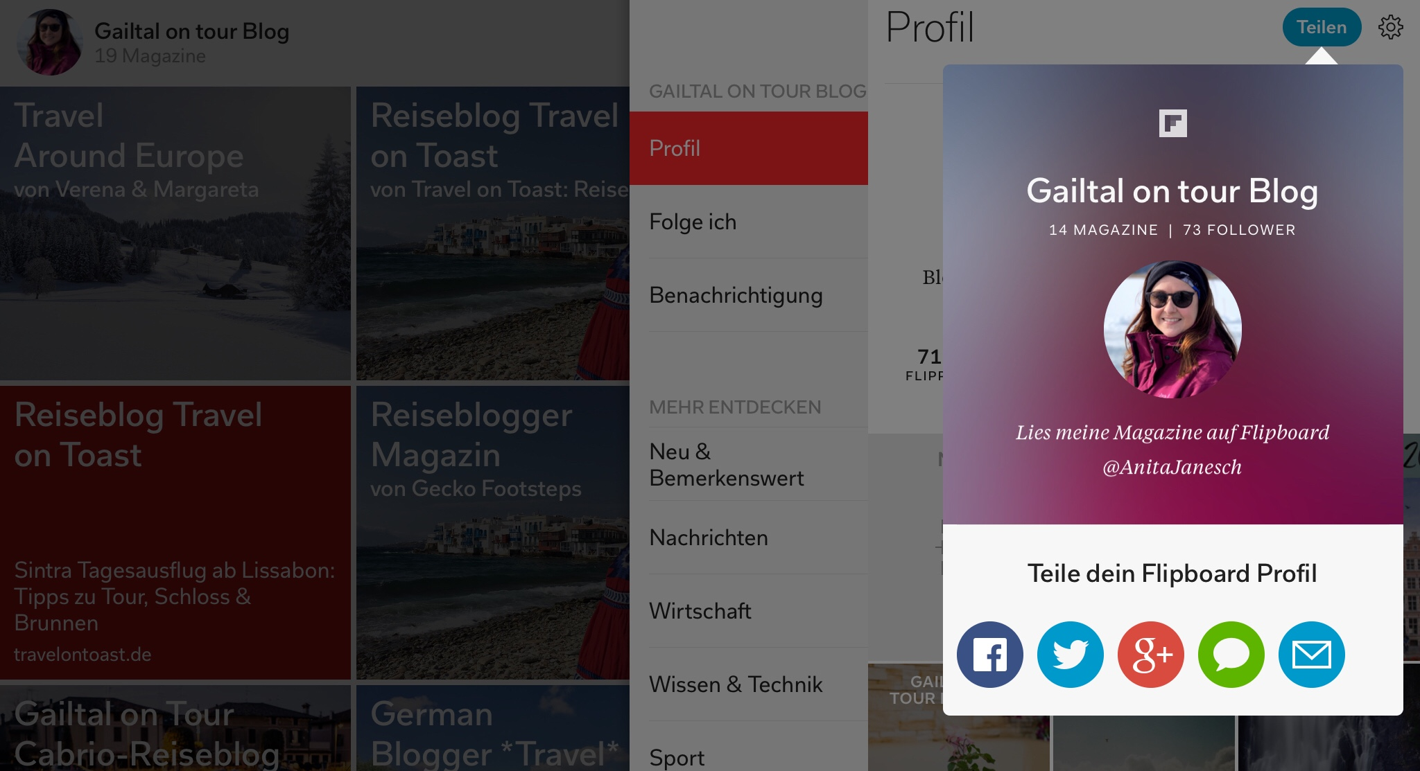 Flipboard-Gailtal-on-tour-blog