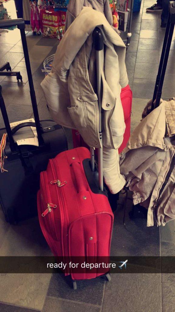Wir reisen nur mit Handgepäck