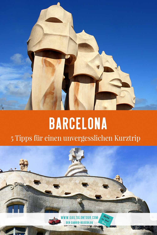 Barcelona-Tipps-Kurztrip