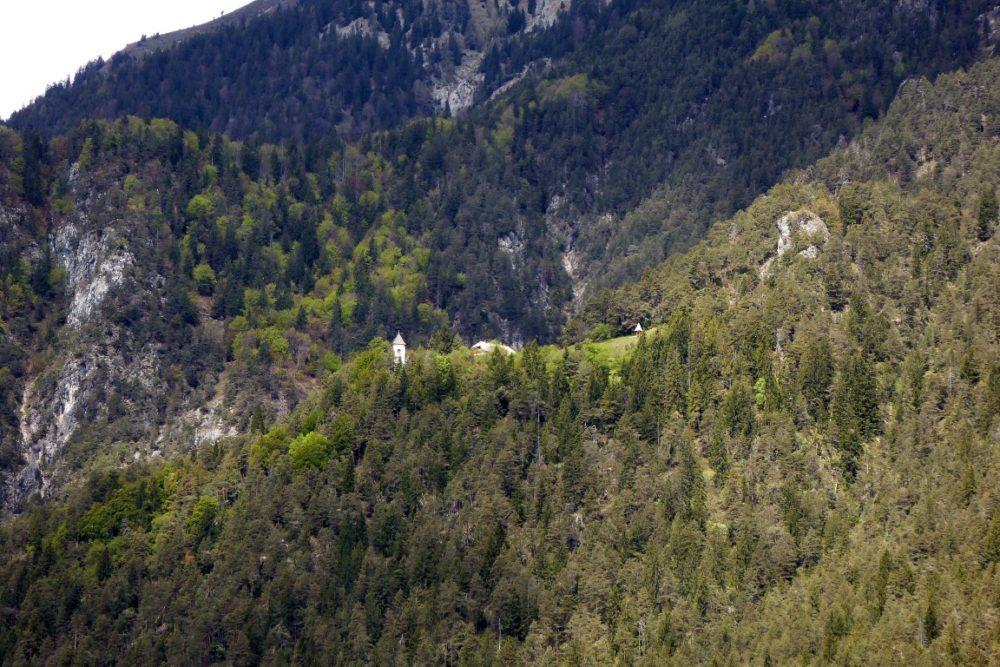 Das Kirchlein von St. Steben