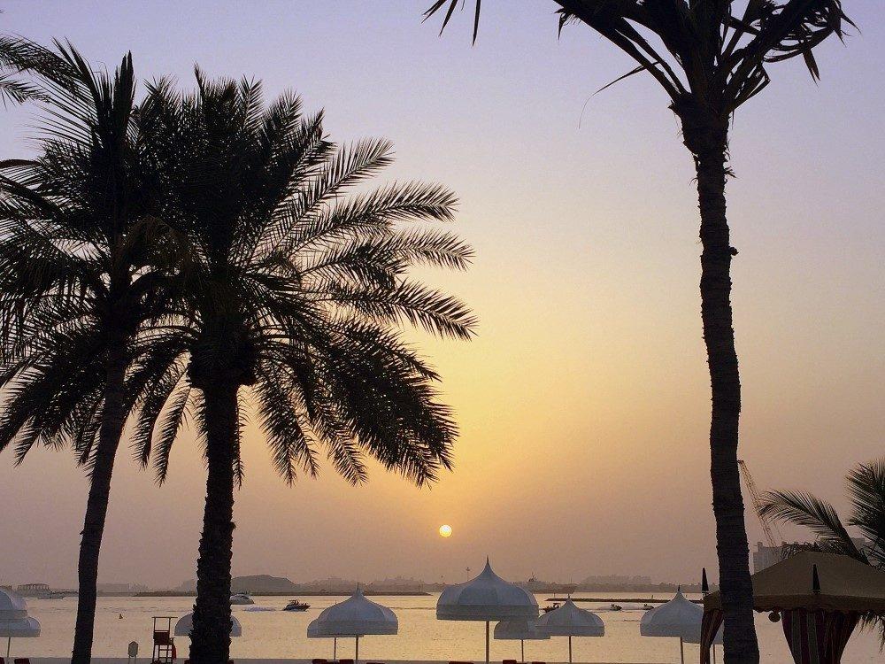 wüste-Sonnenuntergang