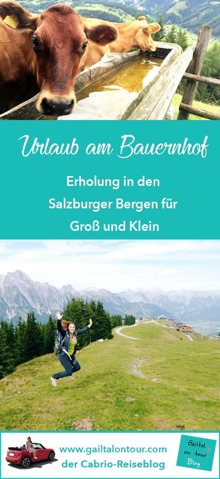 Urlaub am #Bauernhof in Salzburg, #Familien- oder Wanderurlaub in #Leogang. Urlaub in #Österreich.