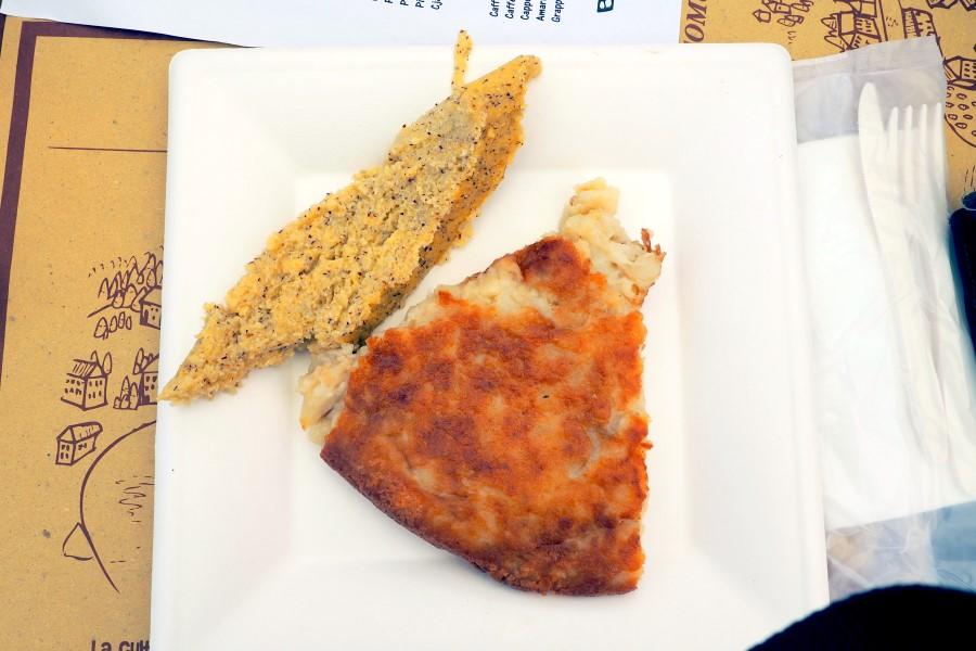 frico-polenta