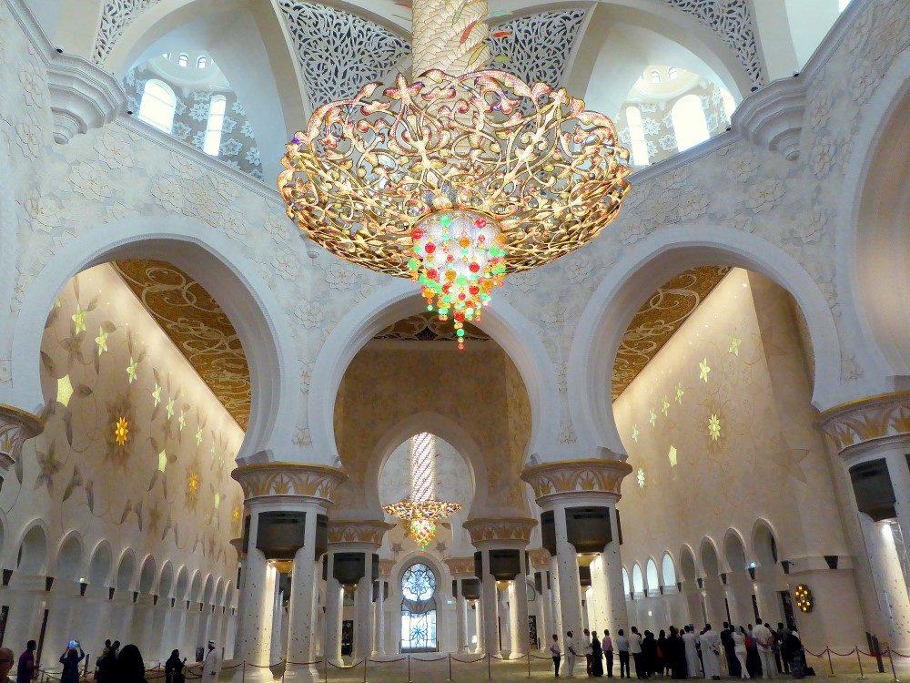 sheikh-zayed-moschee Luster