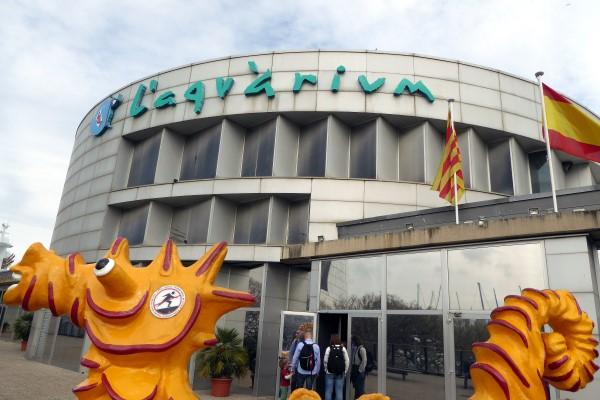 Aquarium Barcelona Schlechtwetter