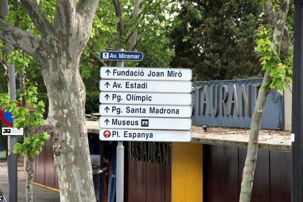 Fundacio Miro bei schlechtwetter