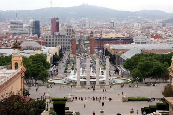Placa de Espana Barcelona