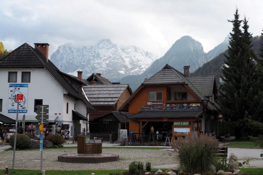 Berkulisse Kranjska Gora, Slowenien