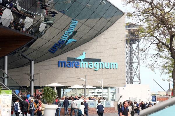 Shoppen im Maremagnum