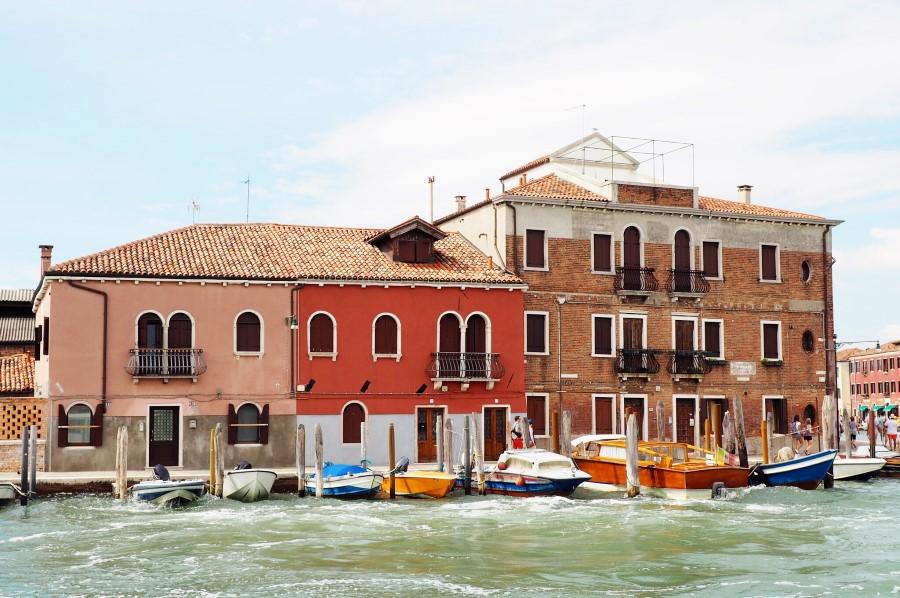 Murano Häuser