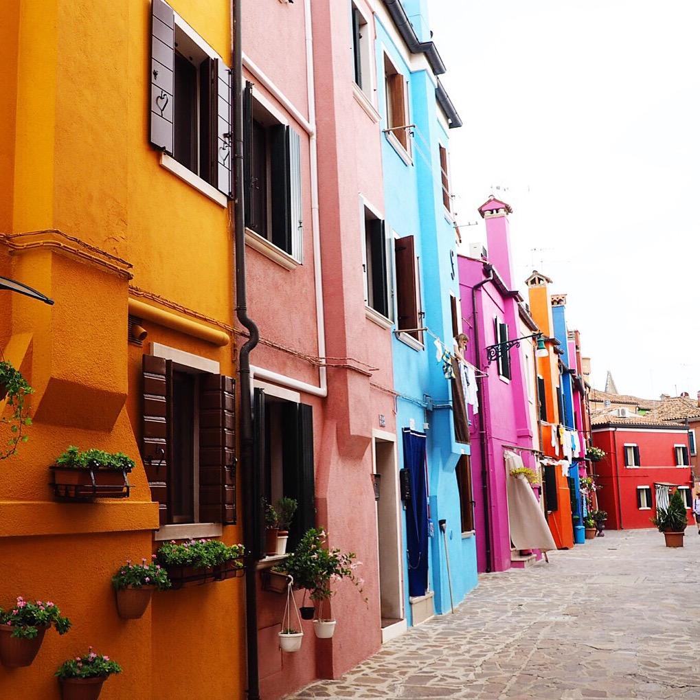Burano Insel Venedig