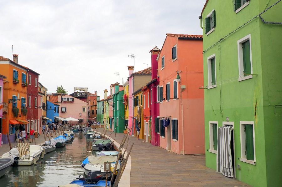 Burano Venedig Fischrei