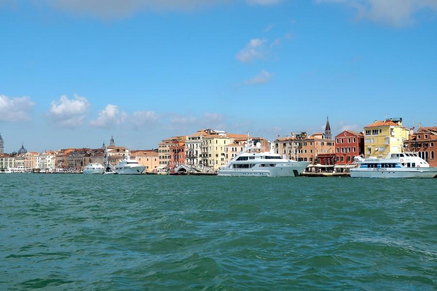 Venedig während der Biennale