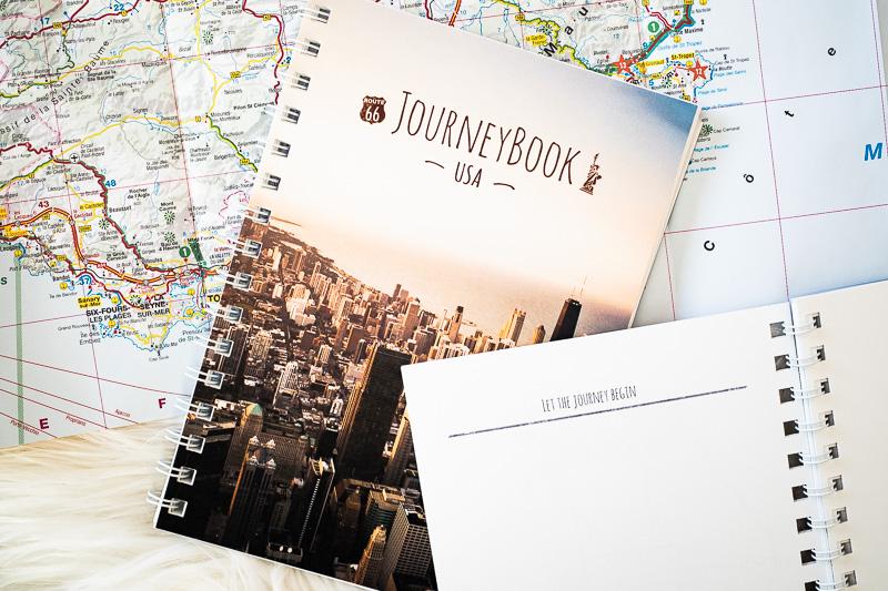 JourneyBook für Reisen
