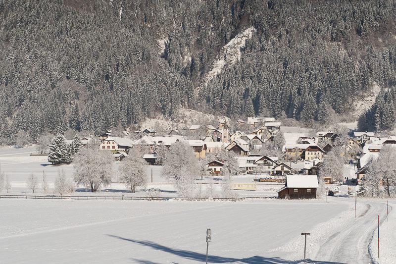 Winterlandschaft Kärnten