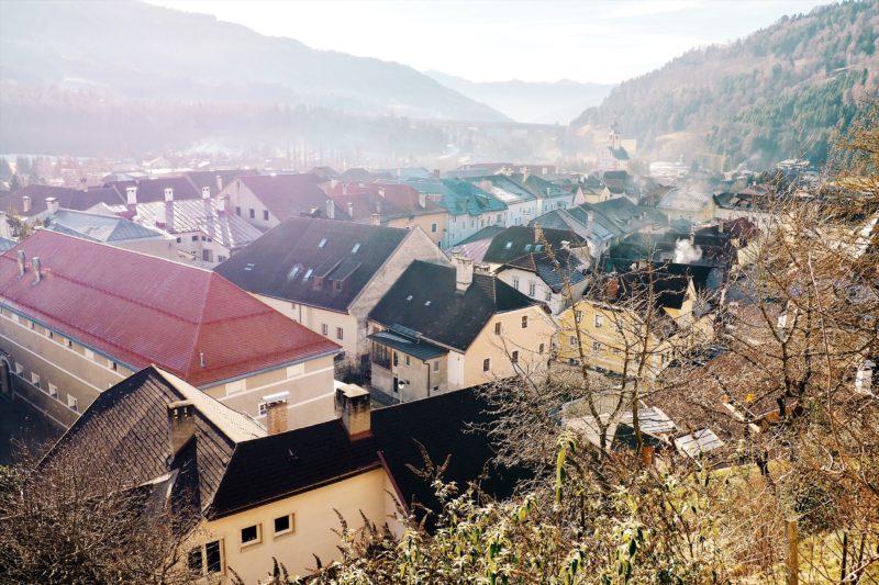 mittelalterliche Kleinstadt