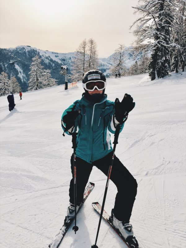 Zweikofel Skifahren