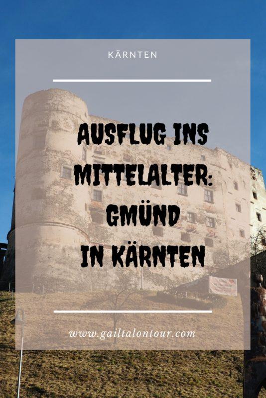 mittelalterliche Stadt Gmünd in Kärnten